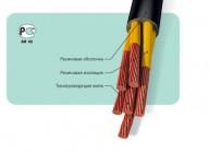 Кабели силовые гибкие, провода для радио- и электроустановок с резиновой изоляцией