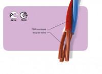 Провода кроссовые станционные с изоляцией из ПВХ пластиката